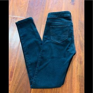 Hollister black jean pants